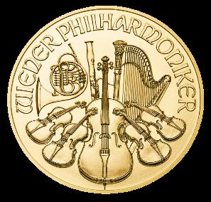 Vienna Philharmonic 1oz Gold Coin